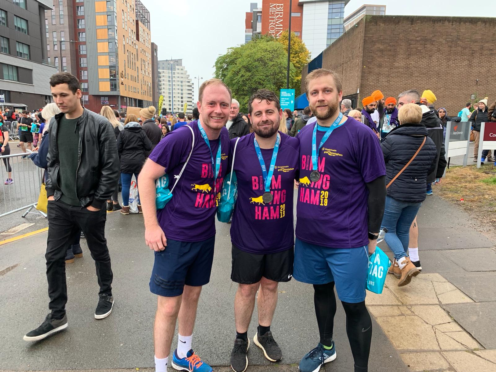 Ascenti physios raise money for Mind