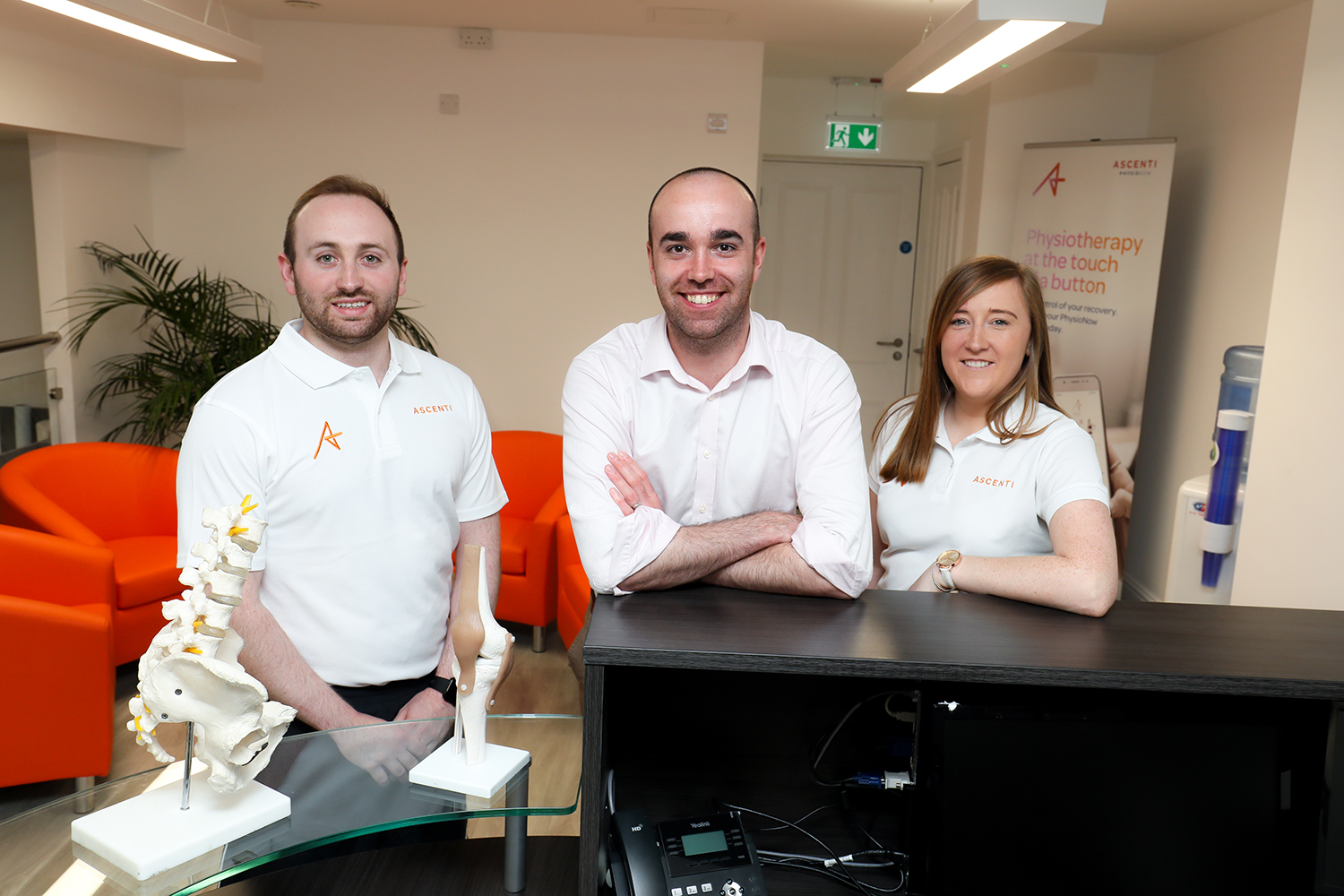 Associate Director Ryan Allen and our physiotherapists